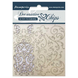 """Stamperia - Decorative Chips 5.5""""X5.5"""" - Tapestry (SCB5.5 15)"""