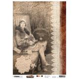 Studio Light - Just Lou Exploration - Decoupage Rice Paper A4 - NR 02 (RICEJL02)
