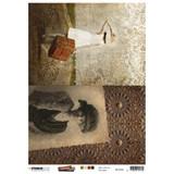 Studio Light - Just Lou Exploration - Decoupage Rice Paper A4 - NR 06 (RICEJL06)