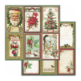 Double-Sided Cardstock 12x12- Classic Christmas - Cards (SBB703)