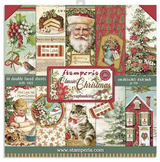 Stamperia - Collection Pack 8x8 - Classic Christmas - Restyled (SBBS17)