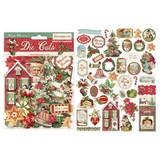 Stamperia - Die-Cut Chippies - Classic Christmas (DFLDC14)