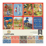 "Authentique - Collection Kit 12""X12"" - Cultivate (CUL008)"
