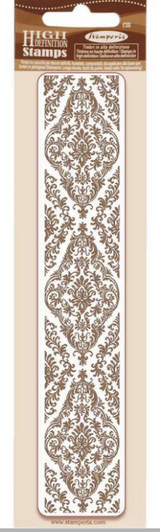 Stamperia - HD Natural Rubber Stamp 1.57x7.08 - Tapestry (WTKCC181)