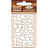"Stamperia - Cling Rubber Stamp 2.75""X4.25"" - Crackle (WTKCC183)"