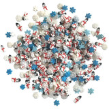 28 Lilac Lane / Buttons Galore : Sparkletz Embellishment Pack 10g - Wintry Mix (BNK 120)