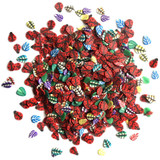 28 Lilac Lane / Buttons Galore : Sparkletz Embellishment Pack 10g - Ladybugs (BNK - 124)