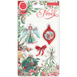 Craft Consortium - Clear Stamps A5 - Noel - Decorations (CSTMP044)