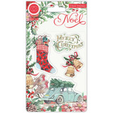 Craft Consortium - Clear Stamps A5 - Noel - Festivity (CSTMP045)