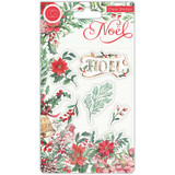 Craft Consortium - Clear Stamps A5 - Noel - Flora (CSTMP046)