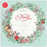 "Craft Consortium - Double-Sided Paper Pad 6""X6"" 40/Pkg - Noel (PPAD020B )"