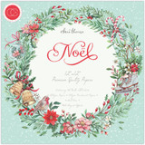 "Craft Consortium - Paper Pack (10 sheets) Double-Sided 12""X12"" Cardstock - Noel (PAD020/10PKG)"
