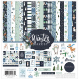 "Carta Bella - Collection Kit 12""X12"" - Winter Market (WM126016)"