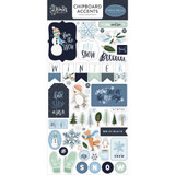 "Carta Bella - Chipboard 6""X13"" - Winter Market - Accents (WM126021 )"
