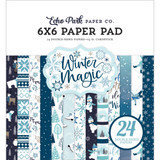 "Echo Park- Double-Sided Paper Pad 6""X6"" 24/Pkg - Winter Magic (M223023 )"