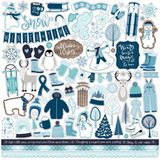 "Echo Park - Cardstock Stickers 12""X12"" - Winter Magic (IM223014)"