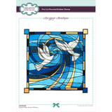 Creative Expressions - Designer Boutique Pre Cut Rubber Stamp - Doves of Peace (UMSDB029)