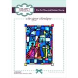 Creative Expressions - Designer Boutique Pre Cut Rubber Stamp - Precious Gift (UMSDB025)
