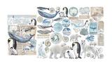 Stamperia - Die-Cut Chippies - Arctic Antarctic (DFLDC19)