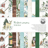 P13 - Paper Pad 6x6 24/Pkg - The Four Seasons - Winter (P13WIN09)