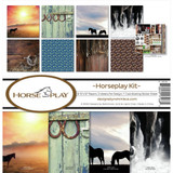 "Reminisce - Double-Sided Collection Kit 12""X12""- Horseplay (HOP200)"