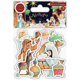 Craft Consortium - Laser-Cut Wooden Shapes 10/Pkg - Nativity (CWDNS010)