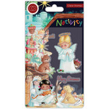 Craft Consortium -A5 Clear Stamps- Nativity - Angels (CSTMP050)