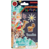 Craft Consortium -A5 Clear Stamps- Nativity - Bethlehem (CSTMP049)
