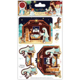 Craft Consortium - 3D Decoupage & Topper Set- Nativity (CDPAK005)