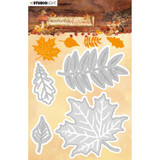 Studio Light - Cutting & Embossing Dies- Wonderful Autumn - NR. 308 Fall Leaves (ILWA308)