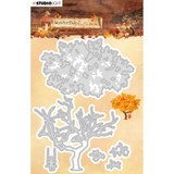 Studio Light - Cutting & Embossing Dies- Wonderful Autumn - NR. 310 Fall Tree (ILWA310)