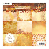 "Studio Light - Paper Pad 6""X6"" 36/Pkg- Wonderful Autumn - Light Shades"