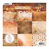 "Studio Light - Paper Pad 6""X6"" 36/Pkg- Wonderful Autumn - Dark Shades (PPWA150)"
