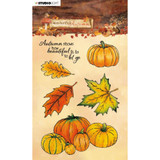 Studio Light - Clear Stamps - Wonderful Autumn - NR. 478 Leaves & Pumpkins (AMPWA478)