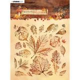 Studio Light - Background Stamp - Wonderful Autumn - NR 483 -Leaves (AMPWA483)