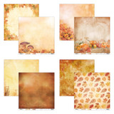 Studio Light - Double-Sided Collection Pack 12x12 8/Pkg - Wonderful Autumn (SWA/12x12 Pack)