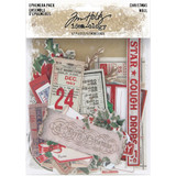 Tim Holtz - Idea-Ology - Ephemera 57/Pkg - Christmas 2020 - Noel (TH94086)