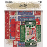 Tim Holtz - Idea-Ology - Christmas 2020 - Vignette Box Tops 5/Pkg (TH94089)