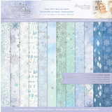 Crafter's Companion - Collection Pad 12x12 - Glittering Snowflakes (GSPAD12)