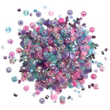 28 Lilac Lane / Buttons Galore - Doodadz Embellishments - Princess Sparkle ( DOODADZ - DD112)