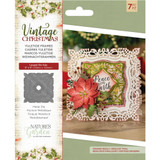Crafter's Companion - Metal Die - Nature's Garden - Vintage Christmas - Yuletide Frames (NMDYFRA)