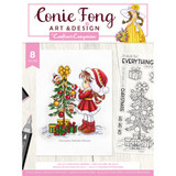 Crafter's Companion - Clear Stamps By Conie Fong - Sally's Christmas Friends (TPSALCF)