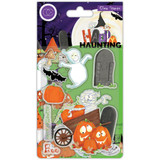 Craft Consortium - A5 Clear Stamps - Happy Haunting - Pumpkins (CSTMP051)