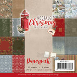 "Find It Trading - Amy Design - Double Sided Paper Pack 6""X6"" 23/Pkg - Nostalgic Christmas (APP10036)"