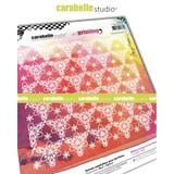 Carabelle Studio - Art Printing Square Rubber Texture Plate - Vintage Wallpaper #1 (APCA0049)