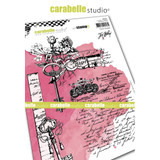 Carabelle Studio - Cling Stamp A5 By Jen Bishop - Secret Garden (SA50041)