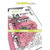Carabelle Studio - Cling Stamp A6 By Jen Bishop - Secret (SA60510)