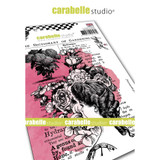 Carabelle Studio - Cling Stamp A6 By Jen Bishop - Dictionary Of Gardening (SA60511E)