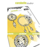 Carabelle Studio - Cling Stamp A6 By Kate Crane - Boho Dreams (SA60516)