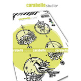 Carabelle Studio - Cling Stamp A6 By Azoline - Hanging Circles (SA60520)